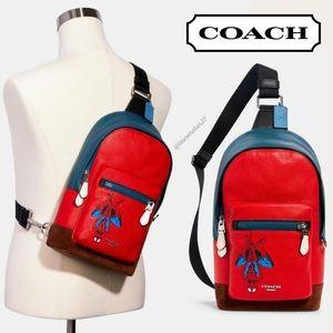 COACH Marvel Spider-Man West Pack Backpack Spidey